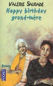 Happy Birthday Grand-Mere - Intérieur - Format classique