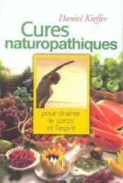 Cures Naturopathiques - Couverture - Format classique