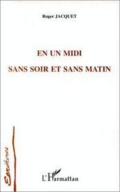 En Un Midi Sans Soir Et Sans Matin - Intérieur - Format classique
