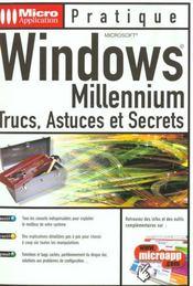Windows millenium - Intérieur - Format classique
