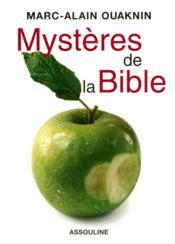 Mystères de la Bible - Couverture - Format classique