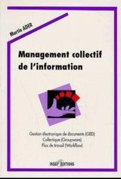 Management Collectif De L Information - Couverture - Format classique