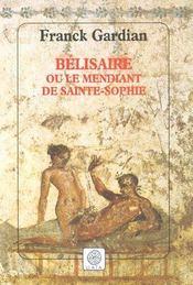 Belisaire, Ou Le Mendiant De Sainte-Sophie - Intérieur - Format classique