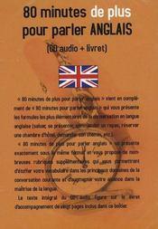 80 Minutes De Plus Pr Parler Anglais - Intérieur - Format classique