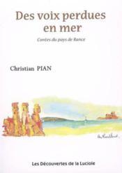 Des Voix Perdues En Mer Contes Du Pays De Rance - Couverture - Format classique