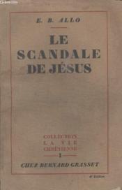 Le Scandale De Jesus. - Couverture - Format classique