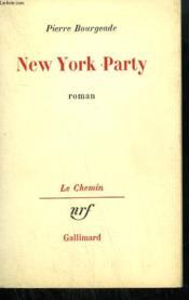 New York Party. - Couverture - Format classique