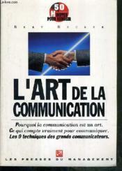 L'Art De La Communication - Couverture - Format classique