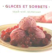 Glaces et sorbets - Couverture - Format classique
