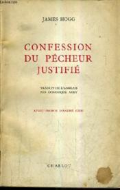 Confession Du Pecheur Justifie. - Couverture - Format classique