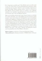 Les Quatre Mondes Du Tiers Monde - 4ème de couverture - Format classique