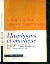 Musulmans Et Chretiens - Couverture - Format classique
