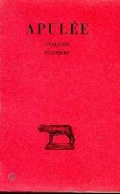 Apologie-florides - Couverture - Format classique