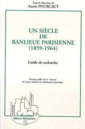 Siecle De Banlieue Parisienne (Un) - Couverture - Format classique