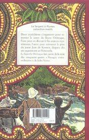 Le superbe orénoque - 4ème de couverture - Format classique