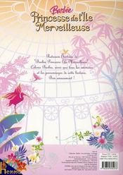 Coloriage Barbie Princesse De L Ile Merveilleuse Collectif