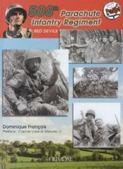 508th parachute infantry regiment ; red devils - Couverture - Format classique