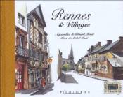 Rennes et villages - Couverture - Format classique