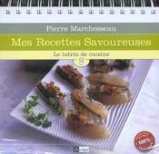 Mes Recettes Savoureuses ; Le Lutrin De Cuisine - Intérieur - Format classique