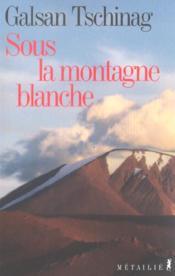 Sous la montagne blanche - Couverture - Format classique