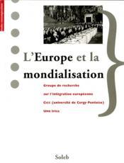 L'Europe et la mondialisation - Couverture - Format classique