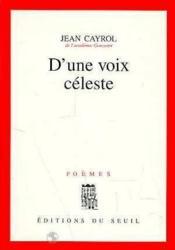 D'une voix celeste - Couverture - Format classique