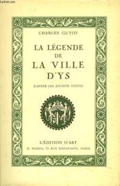 La Legende De La Ville D'Ys - Couverture - Format classique