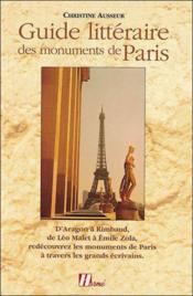 Guide Litteraire Des Monuments De Paris - Couverture - Format classique