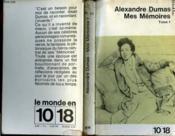 Mes Memoires Tome 1 - Couverture - Format classique