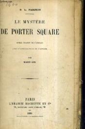Le Mystere De Porter Square. - Couverture - Format classique