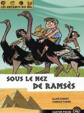 Les enfants du Nil T.13 ; sous le nez de Ramsès - Intérieur - Format classique