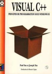 Visual c++ principes de programmation sous windows 95 + cd r - Couverture - Format classique