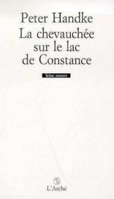 La Chevauchee Sur Le Lac De Constance - Couverture - Format classique