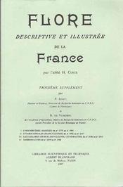 Flore descriptive et illustrée de la France ; 3e supplément - Intérieur - Format classique