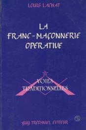Franc-maconnerie operative - Couverture - Format classique
