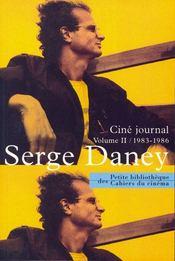 Ciné journal t.2 ; 1983-1986 - Intérieur - Format classique