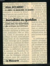 Journalistes Au Quotidien - Couverture - Format classique