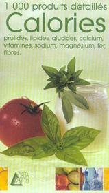 Calories, vitamines et sels mineraux - Intérieur - Format classique