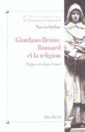 Giordano bruno, ronsard et la religion - Couverture - Format classique