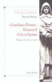 Giordano bruno, ronsard et la religion - Intérieur - Format classique