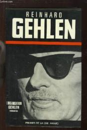 L'Organisation Gehlen. Mémoires - Couverture - Format classique