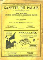 Gazette Du Palais - 75eme Annee - N°6 Bis - Couverture - Format classique