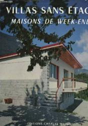 Maisons Sans Etages Villas De Week-End - Couverture - Format classique