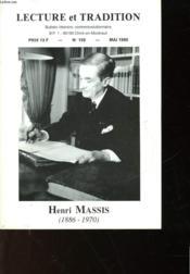 Lecture Et Tradition - N°159 - Henri Massis - Couverture - Format classique