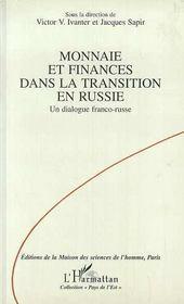 Monnaies Et Finances Dans La Transition En Russie - Intérieur - Format classique