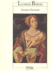 Lucrezia Borgia - Couverture - Format classique