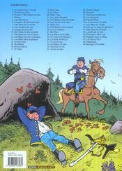 Les tuniques bleues t.49 ; mariage à fort Bow - 4ème de couverture - Format classique