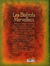 Les bistrots merveilleux - 4ème de couverture - Format classique