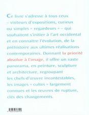 Histoire de l art en images nle edition - 4ème de couverture - Format classique