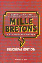 Mille bretons - Couverture - Format classique
